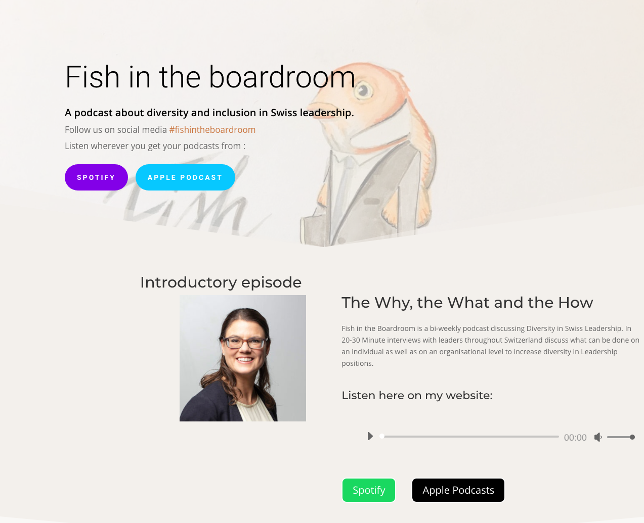 Fish in the boardroom